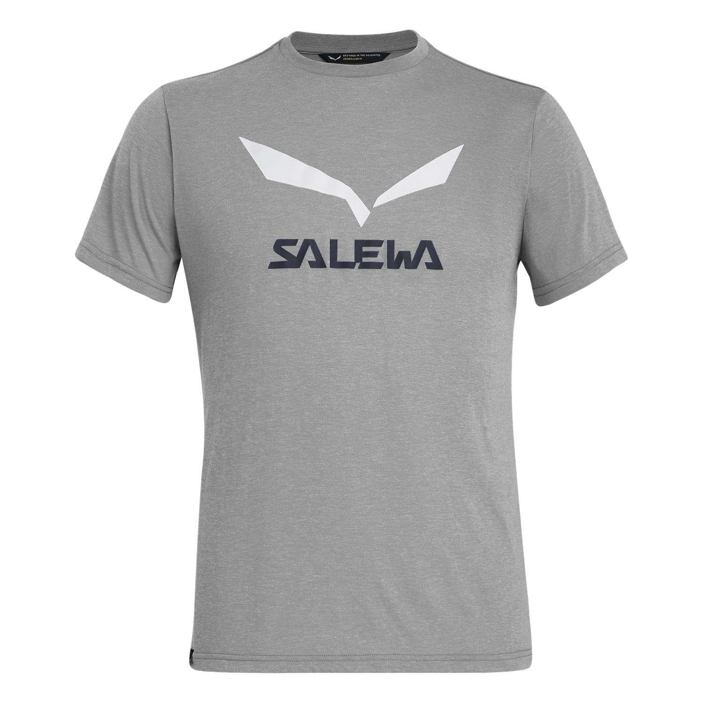Salewa Herren T-Shirt Solidlogo Dri-Release® 027018 glory melange