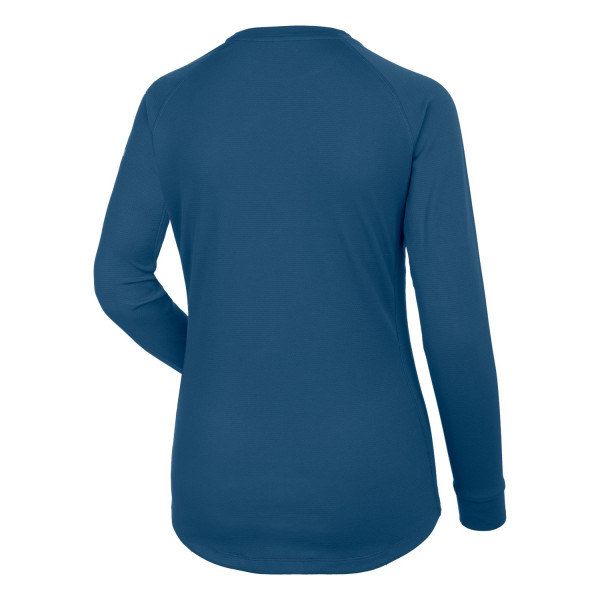Salewa Pecol 3 Dry Ls Tee Men´s Clothing T shirts Blue