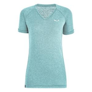Salewa Puez Melange Dry W L//S Tee T-Shirt Femme