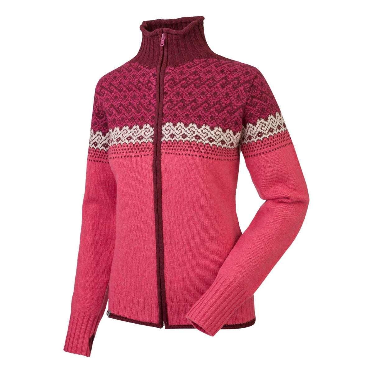 Fanes Full Zip Damen Wollsweater