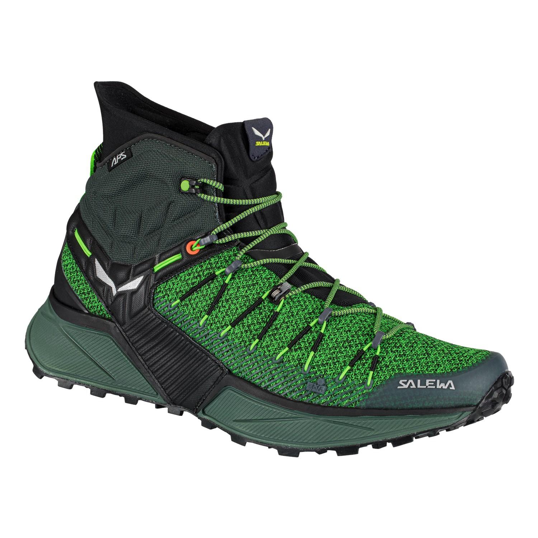 Salewa Mens Trail Running Low Rise Hiking Shoes 8 us Green